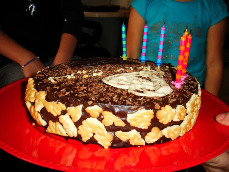 Recetas de postres navideños con tarta de chocolate
