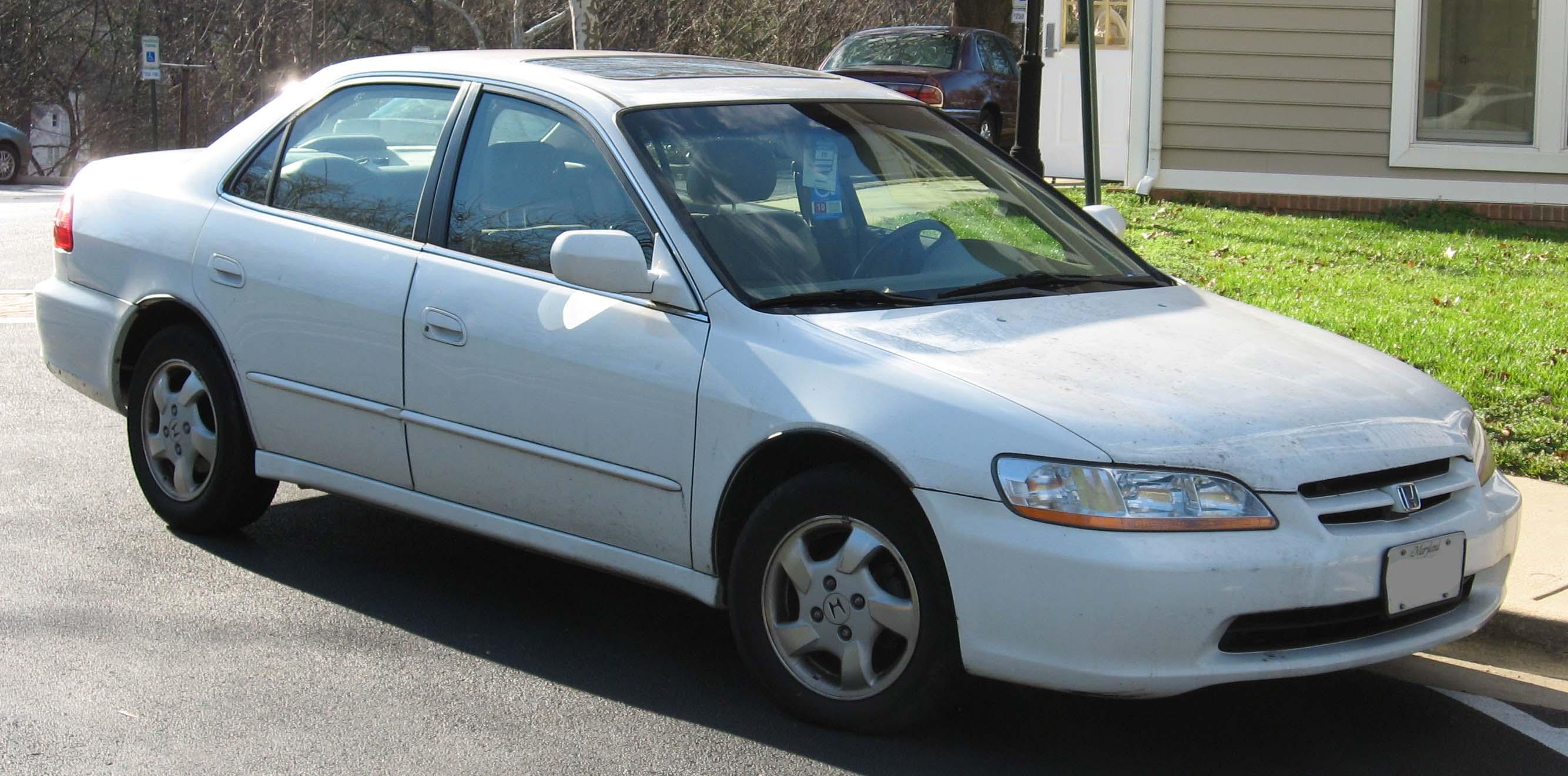 Honda Accord White Paint