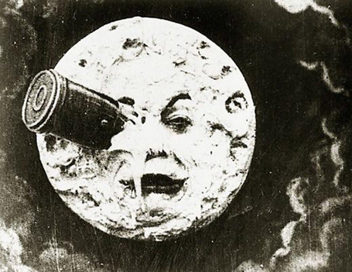 Frame from  'Le Voyage dans La Lune'
