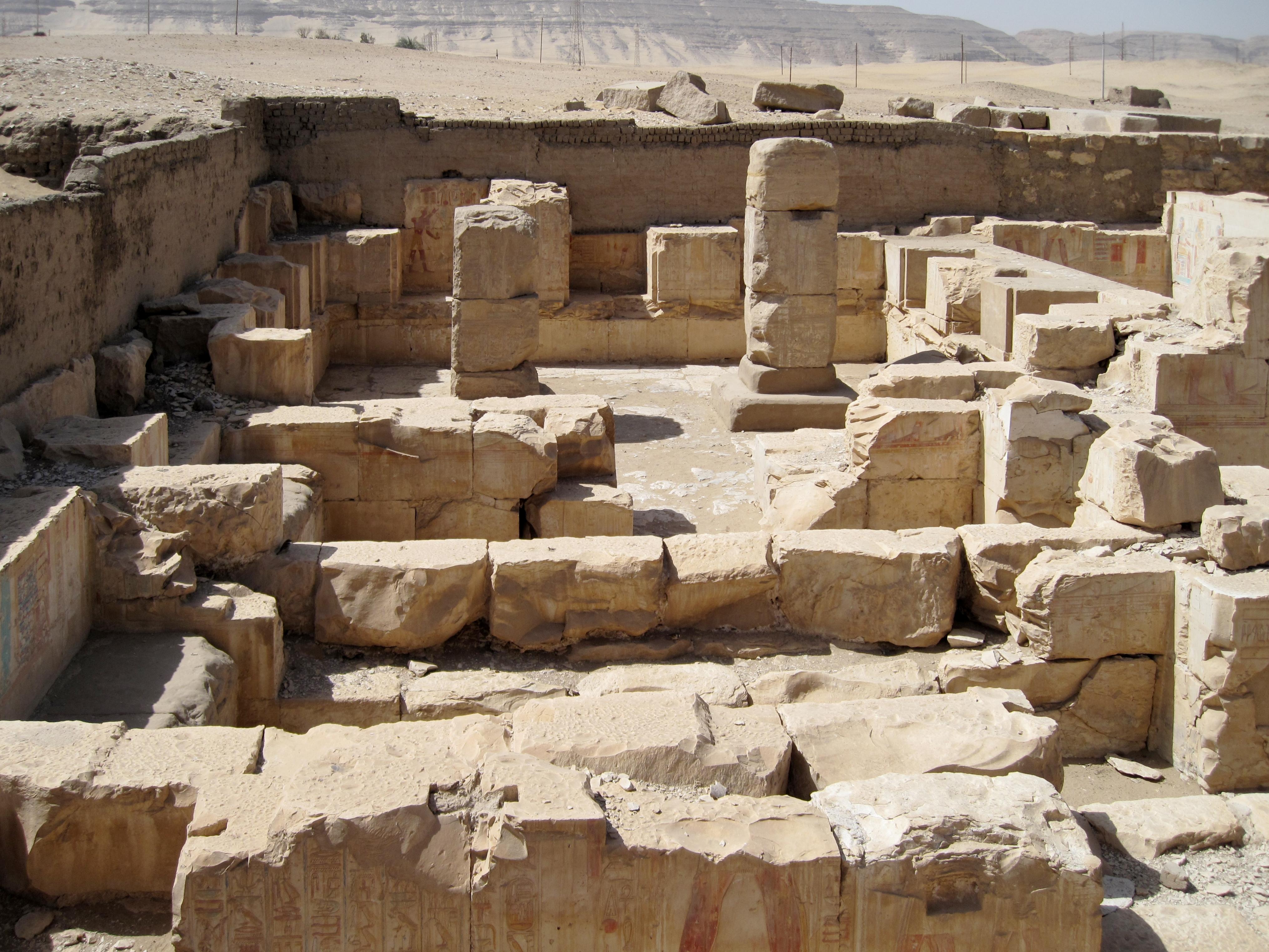 Abydos Ramses  Fres Prisonniers Oms Villes