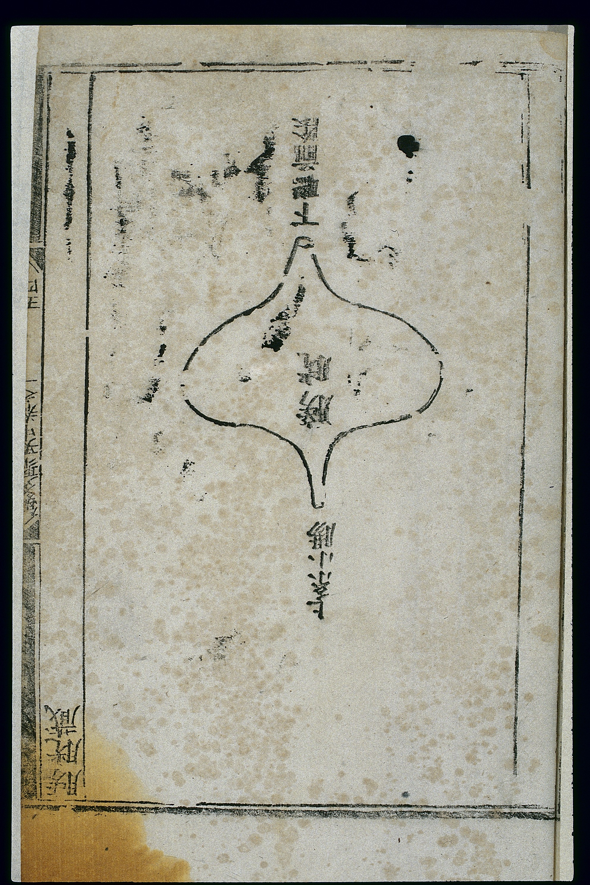 File:Anatomy of the bladder in ancient Chinese medicine, woodcut ...
