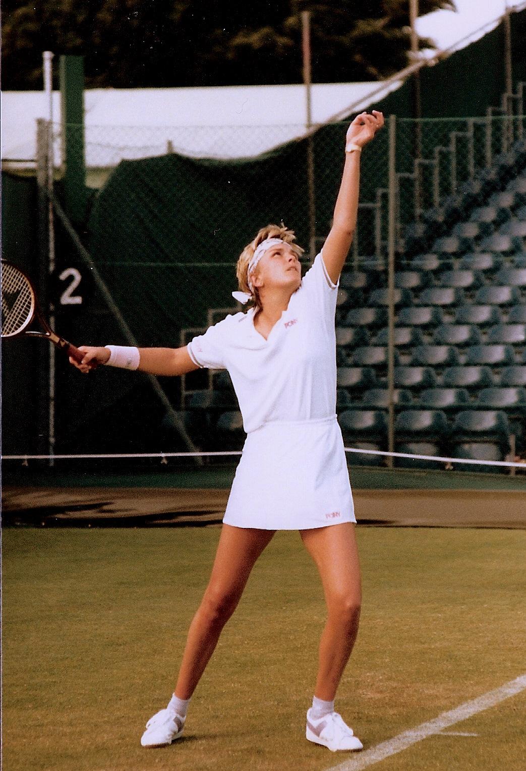 White at Wimbledon 1986