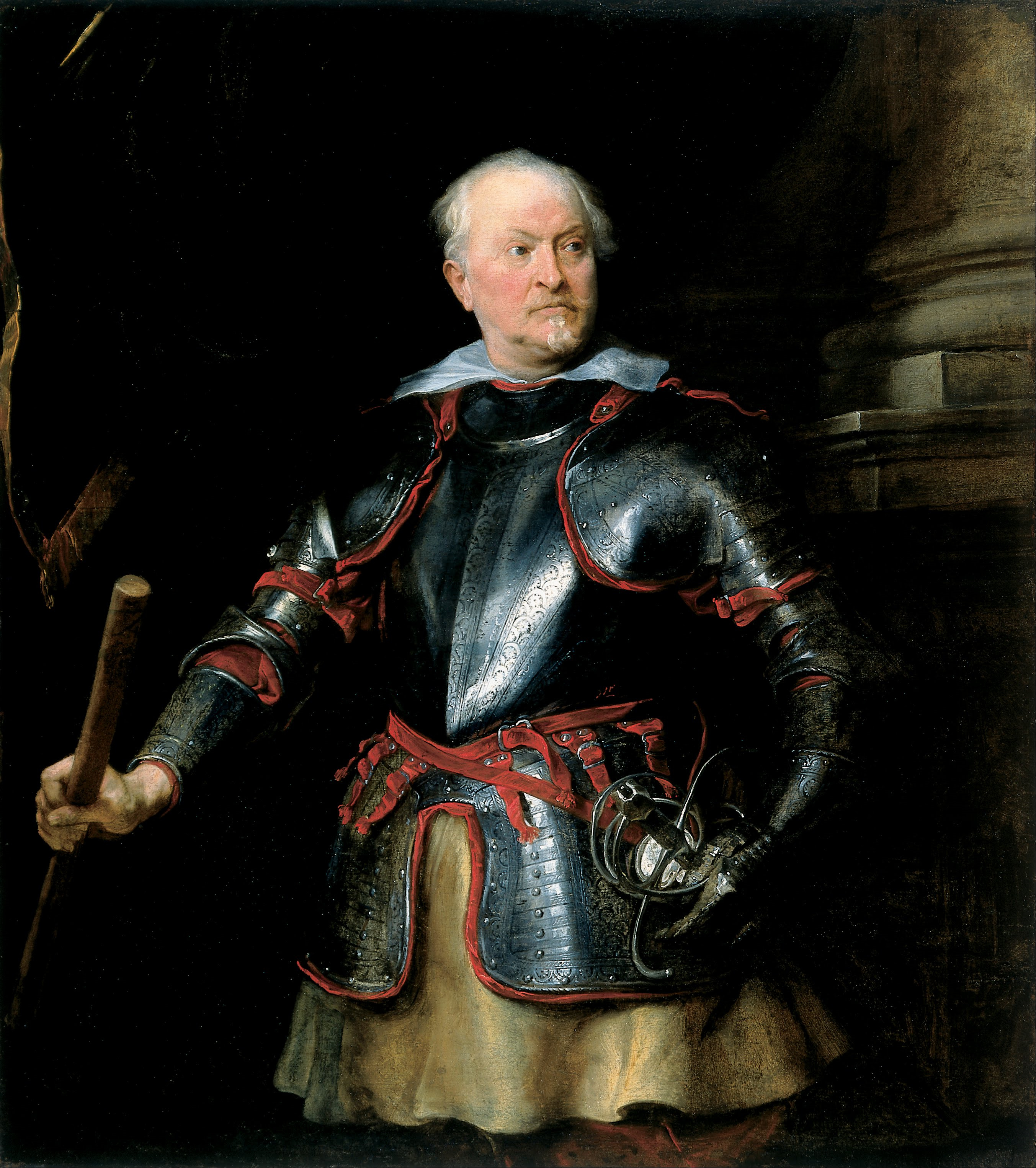 file anthony van dyck portrait of a a man in armor google art
