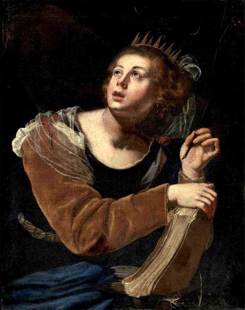 File:Artemisia Gentileschi - St Catherine of Alexandria ...