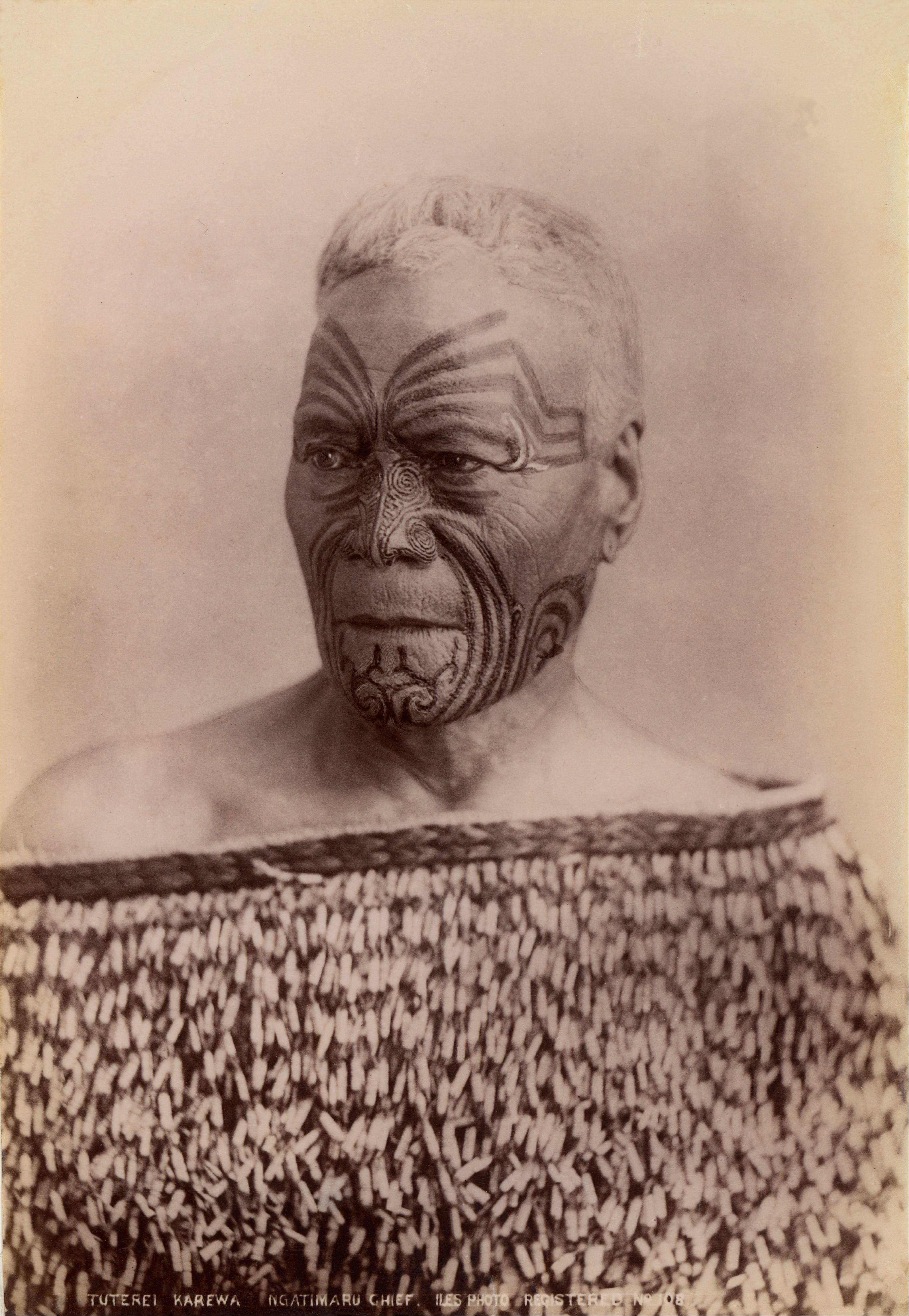 Tuterei Karewa Of The Ngatimaru