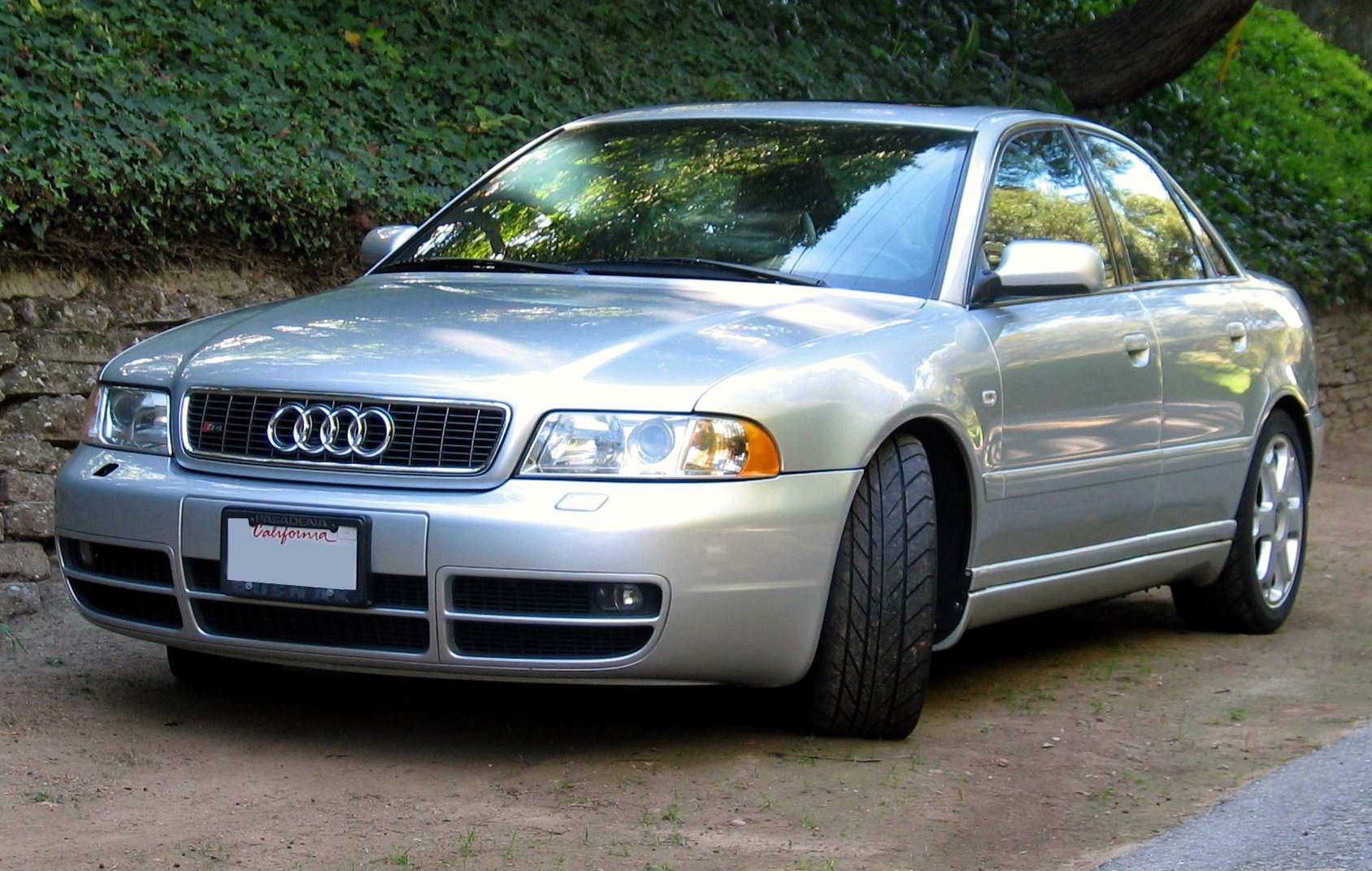 FileAudi S4 Type B5 silver fljpg  Wikimedia Commons