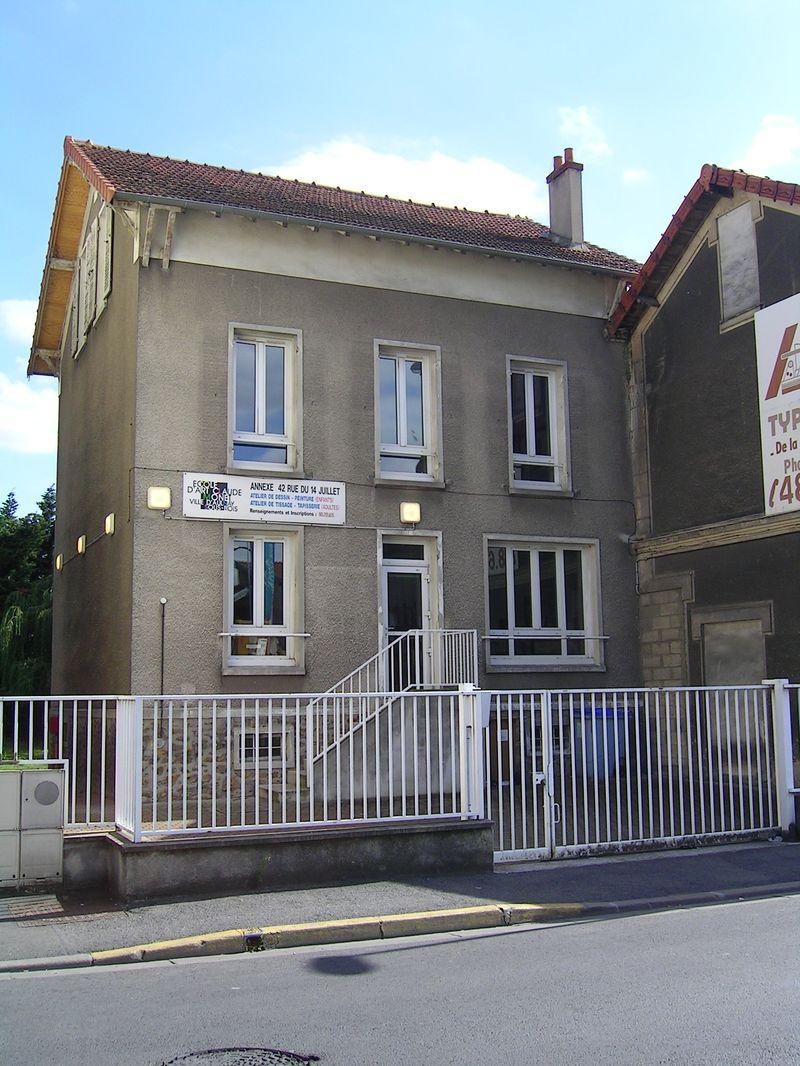 FichierAulnaysousBois  Ecole d Art Claude Monetjpg  ~ Ecole Monceau Pavillons Sous Bois