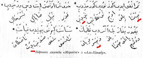Belarusian al kitab marked.jpg