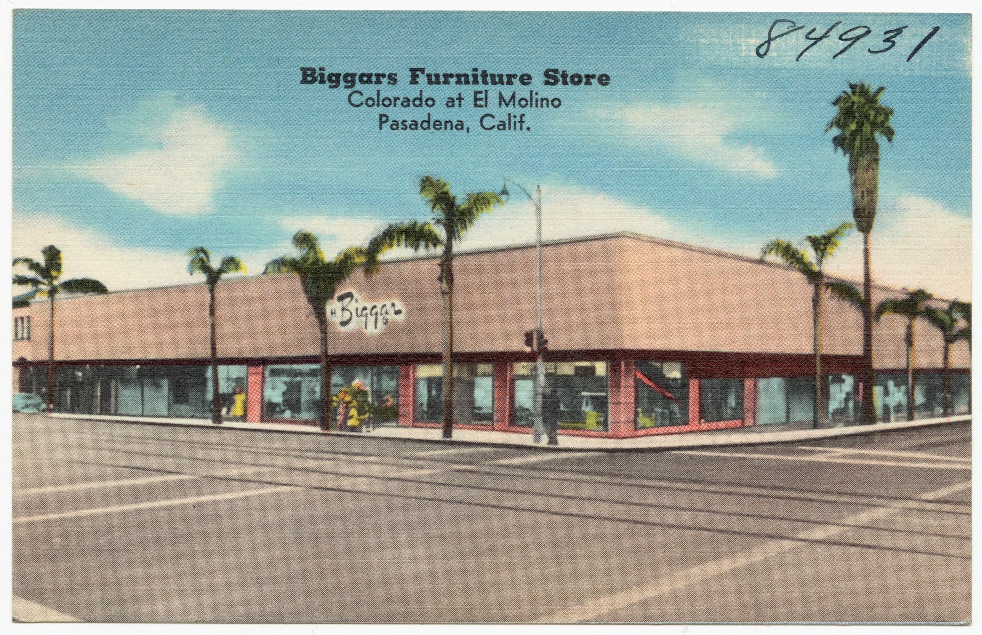 File Biggars Furniture Store Colorado At El Molino Pasadena Calif 84931 Jpg Wikimedia Commons