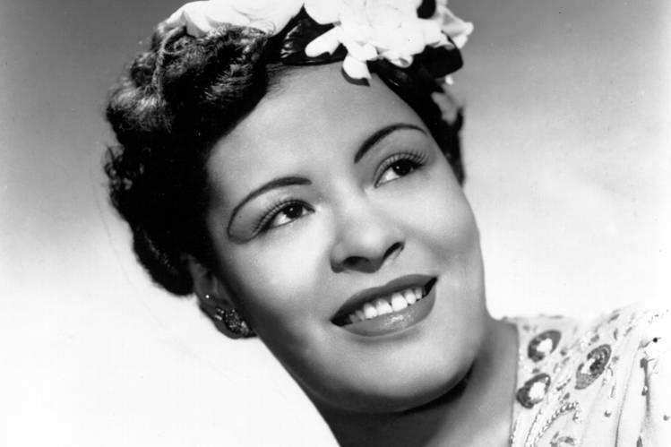 Photo Billie Holiday via Opendata BNF