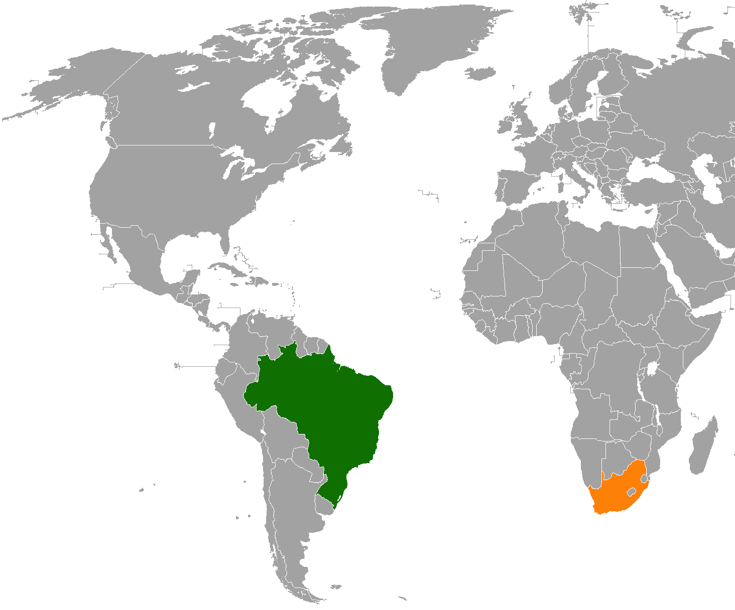south africa and brazil relationship with the united