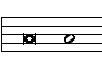 Brevis and semibrevis - modern notation.jpg