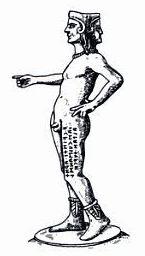 Culsans Etruscan deity