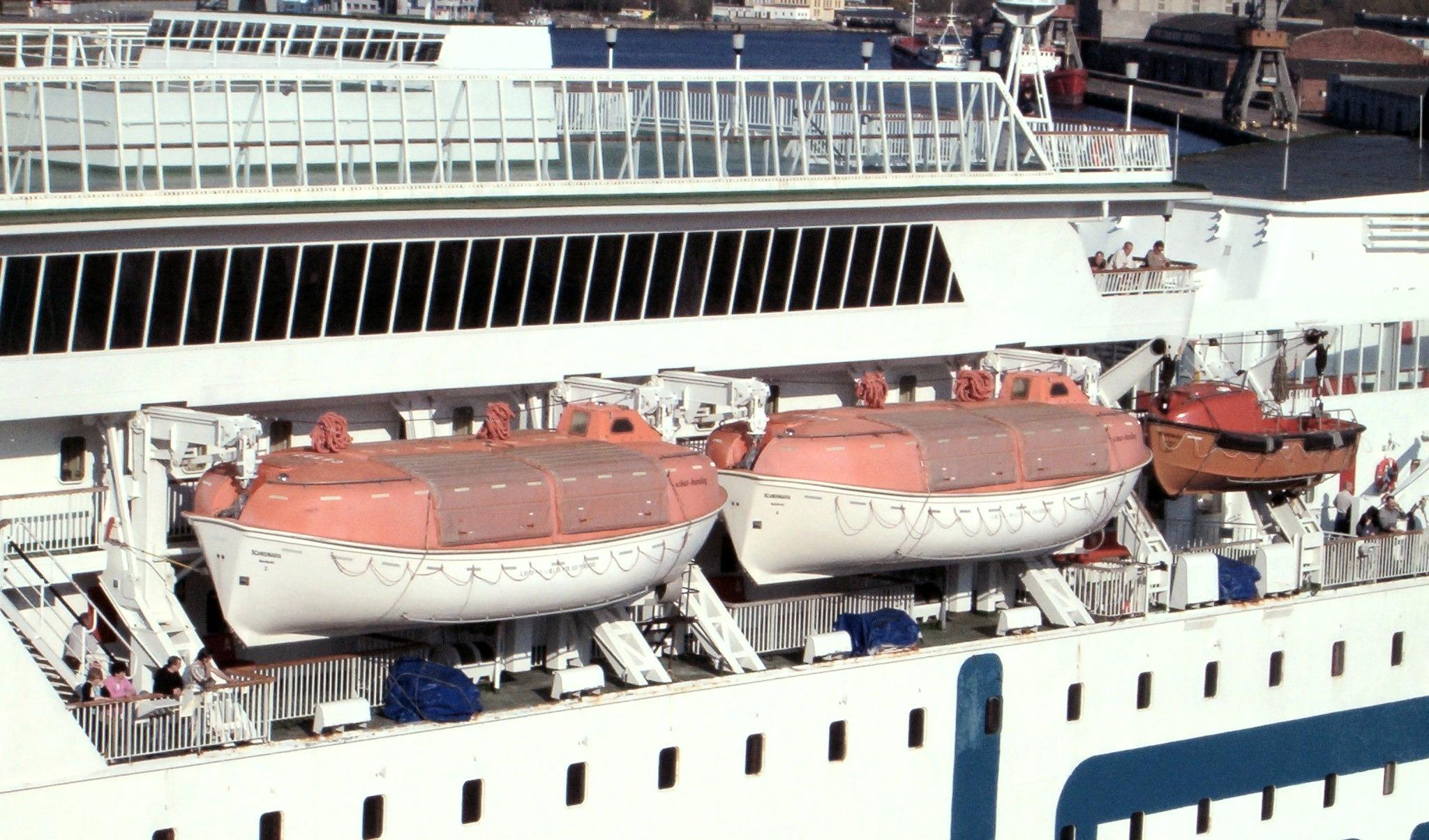 Lifeboat (shipboard) - Wikipedia