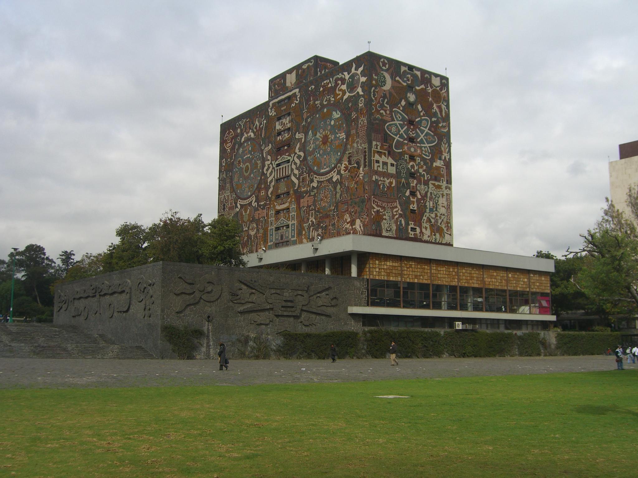 File cu mexico biblioteca wikimedia commons for Universidades para arquitectura