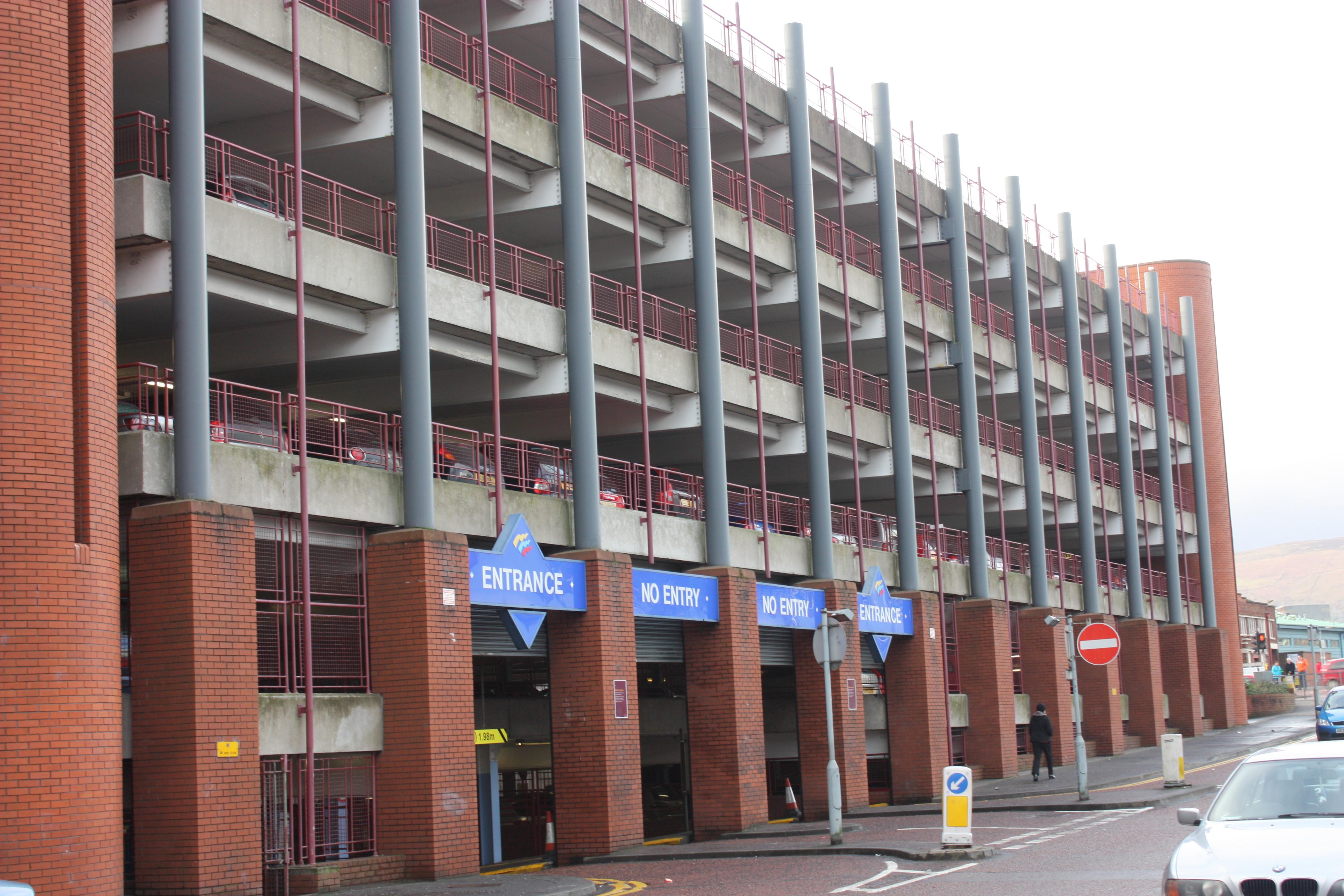 Castle Court Car Park Belfast