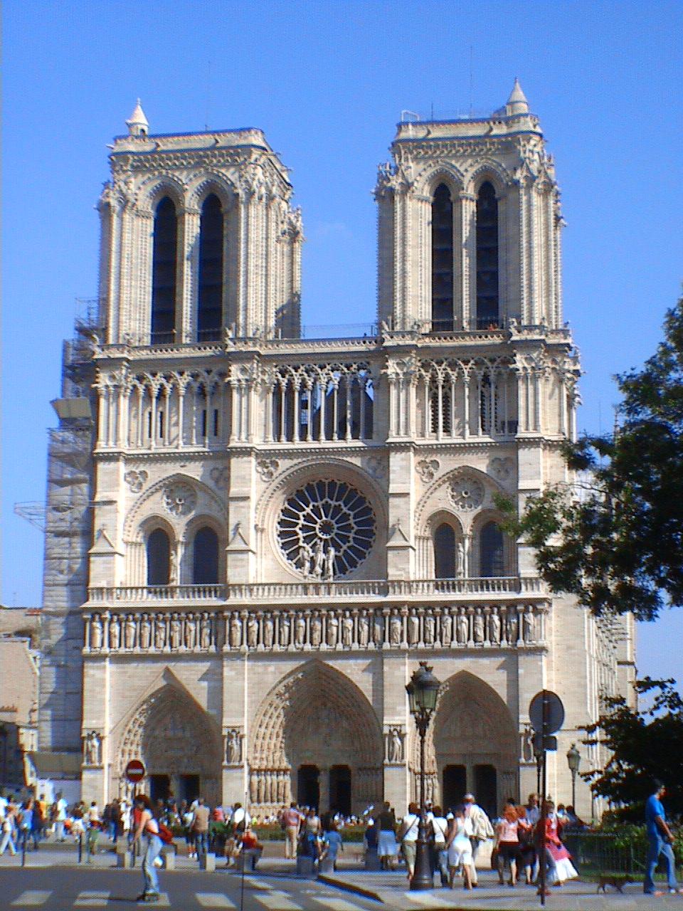 File Catedral De Notre Dame De Paris Fachada Jpg Wikimedia Commons