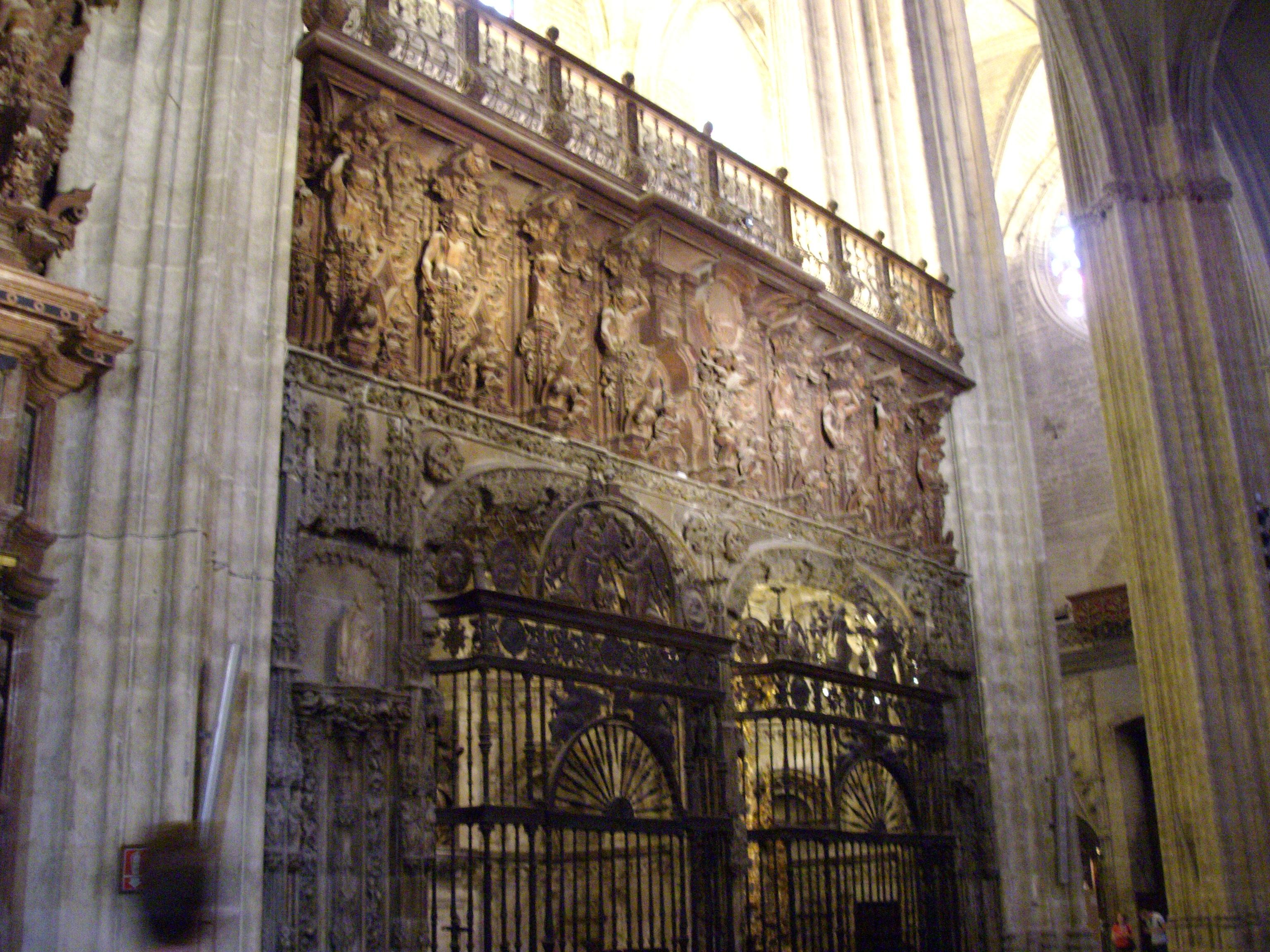 File cathedral sevilla interior 25 jpg wikimedia commons - Catedral de sevilla interior ...