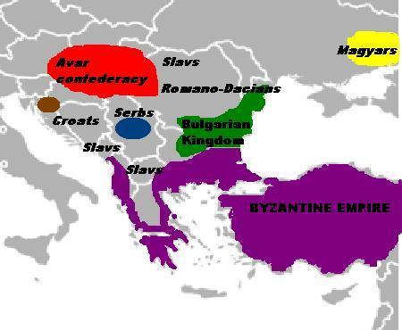 File Central And Eastern Europe Around 700 Ad Jpg Wikimedia Commons