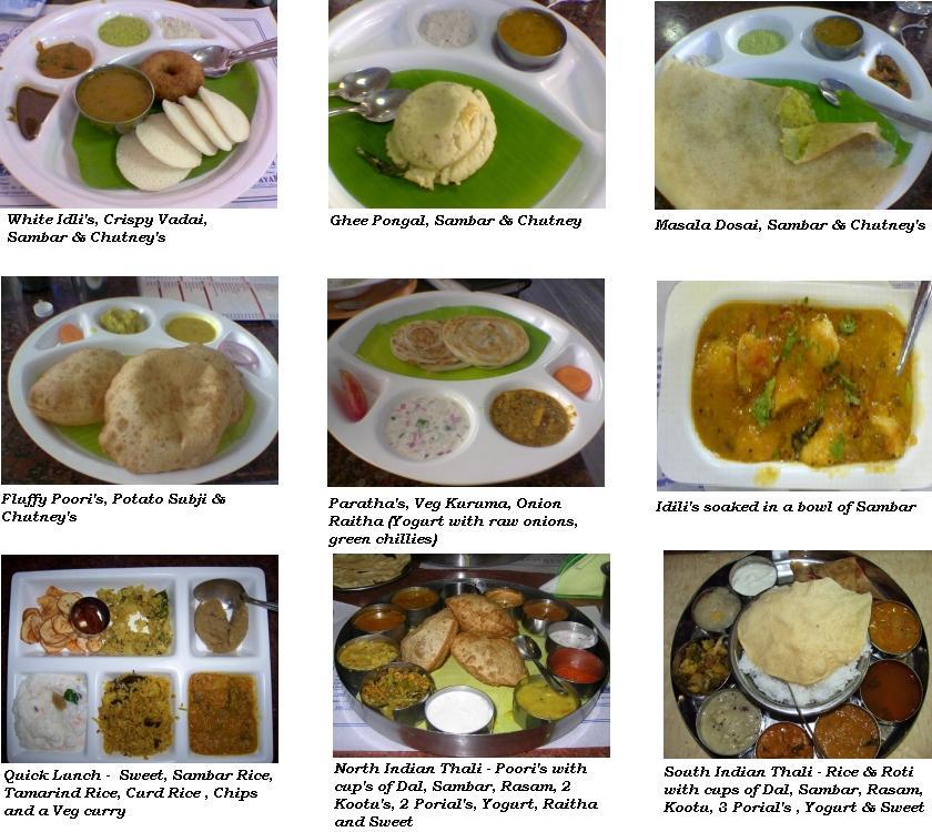 Menu For Multi Cultural Food
