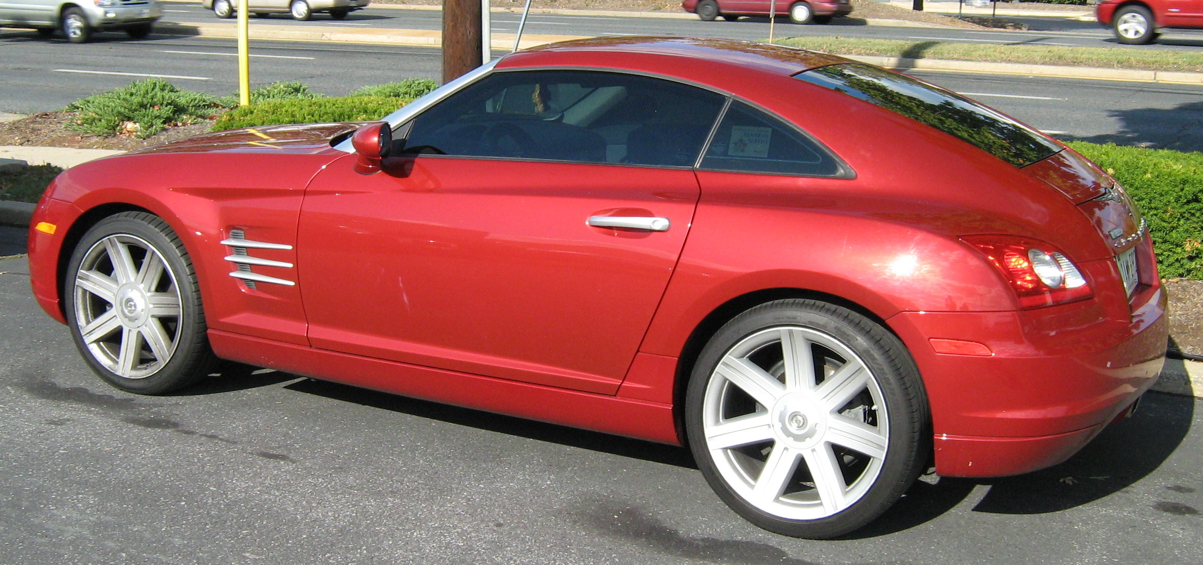 File:Chrysler Crossfire Red Coupe2.JPG - Wikimedia Commons