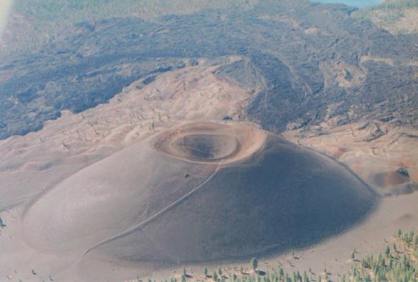 how to make a cinder cone volcano