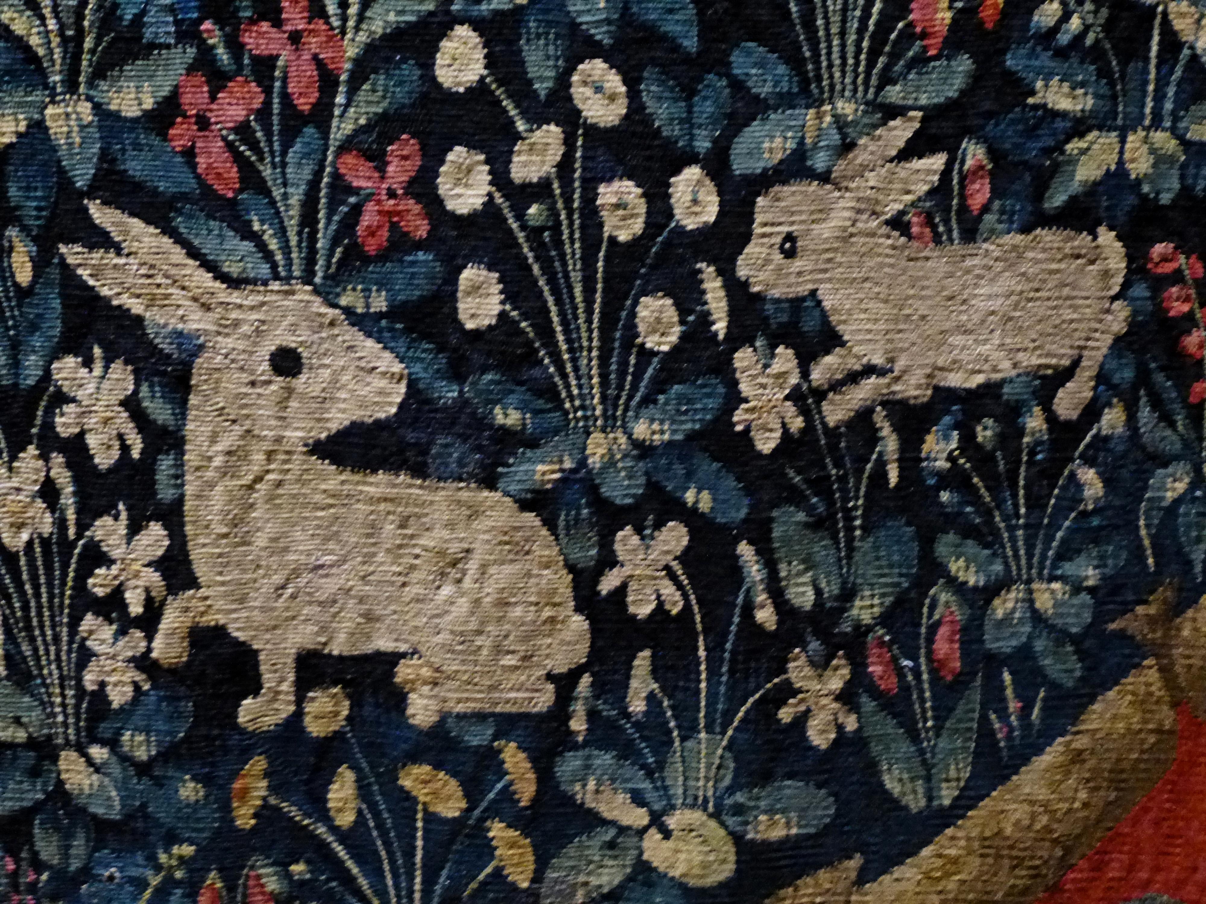 File cluny dame la licorne detail 16 jpg wikimedia commons - Tapisserie dame a la licorne ...