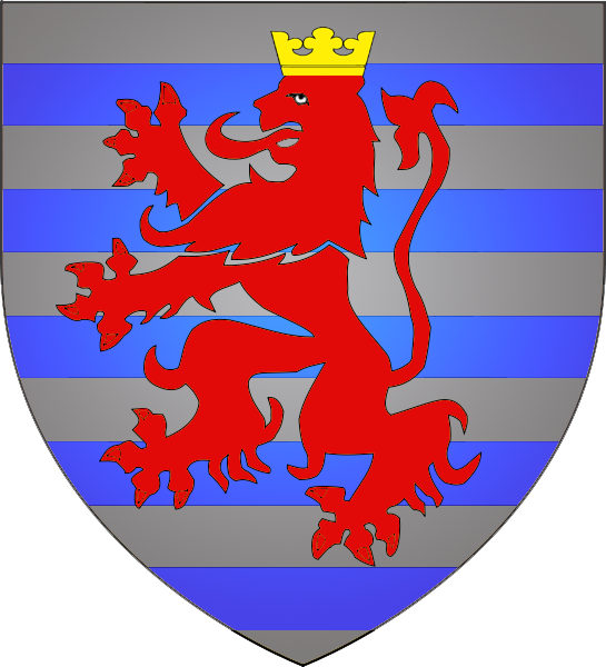 Coat of arms Luxembourg city.