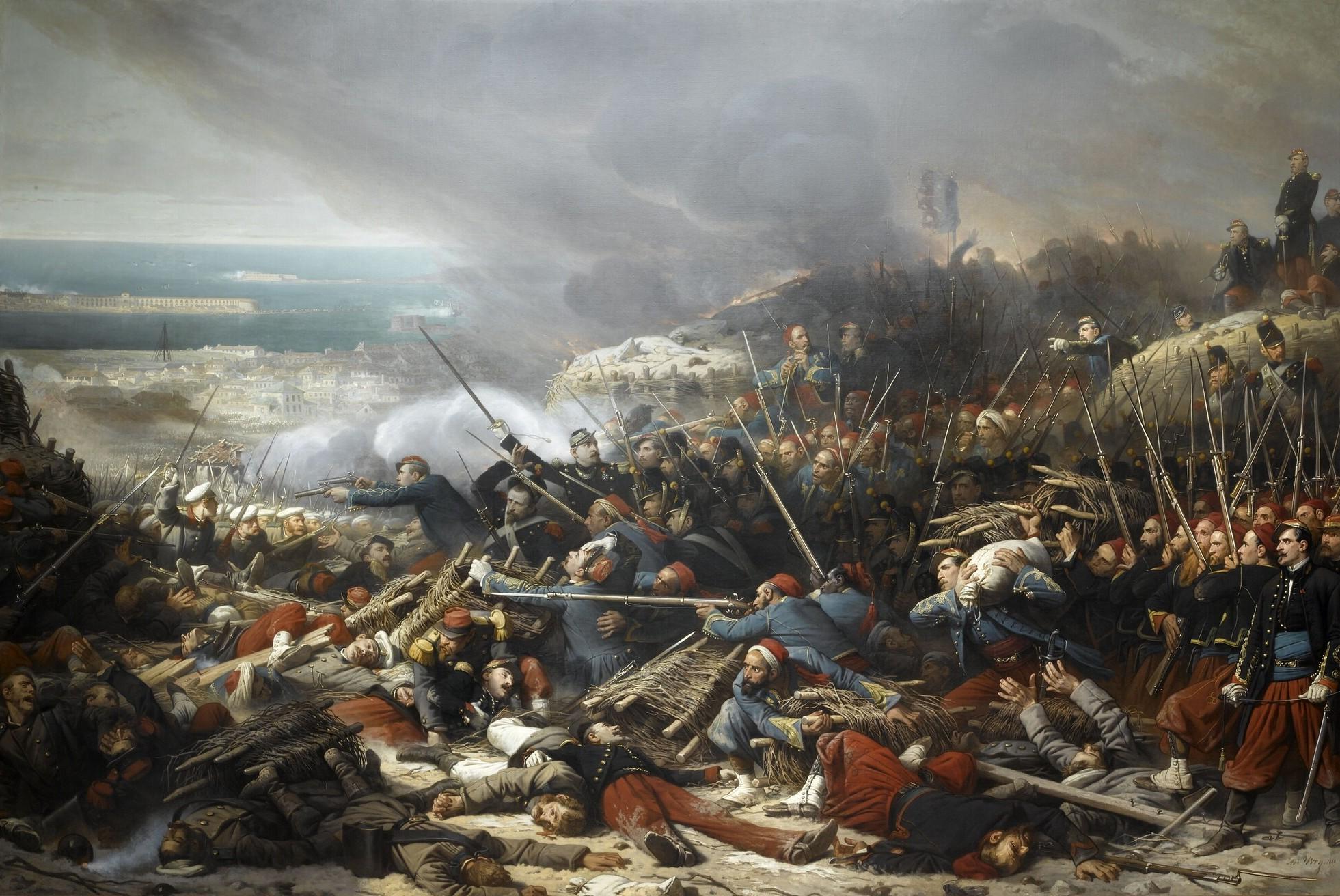 http://upload.wikimedia.org/wikipedia/commons/d/db/Combat_dans_la_gorge_de_Malakoff,_le_8_septembre_1855_(par_Adolphe_Yvon).jpg