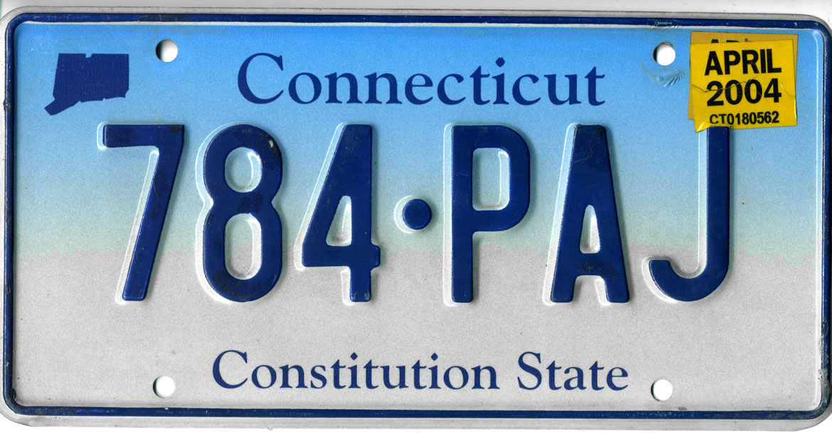 Vehicle registration plates of Connecticut - Wikipedia