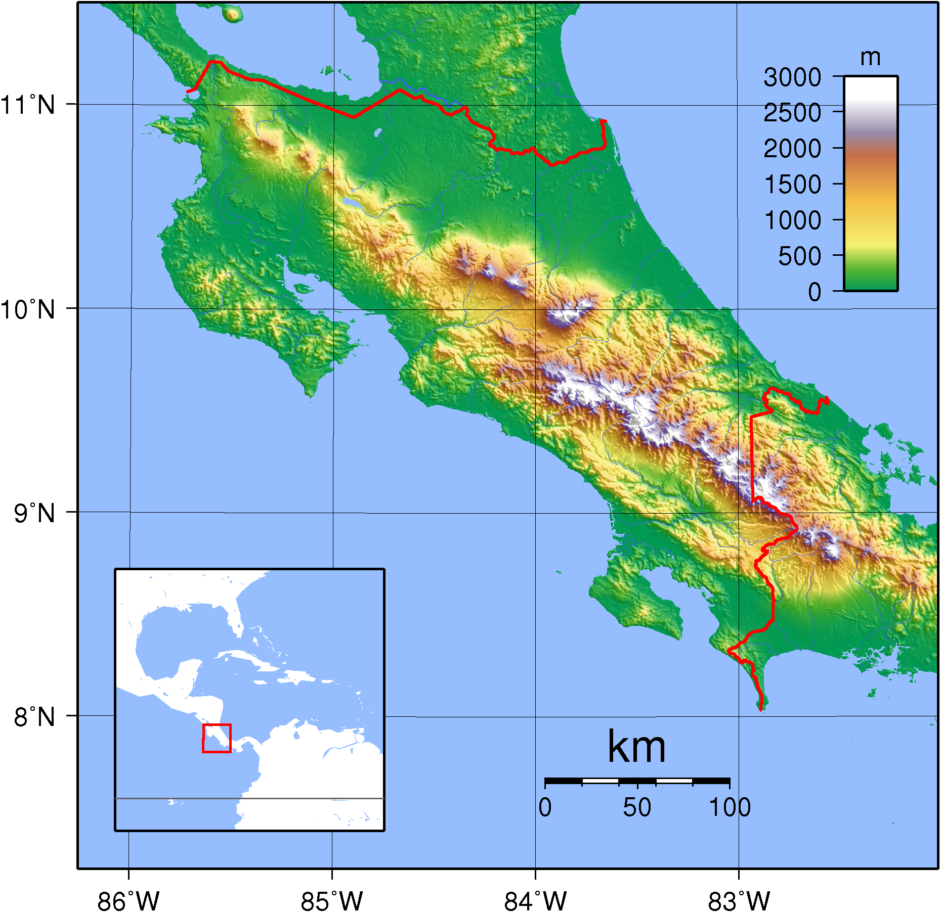 Geography of Costa Rica Wikipedia