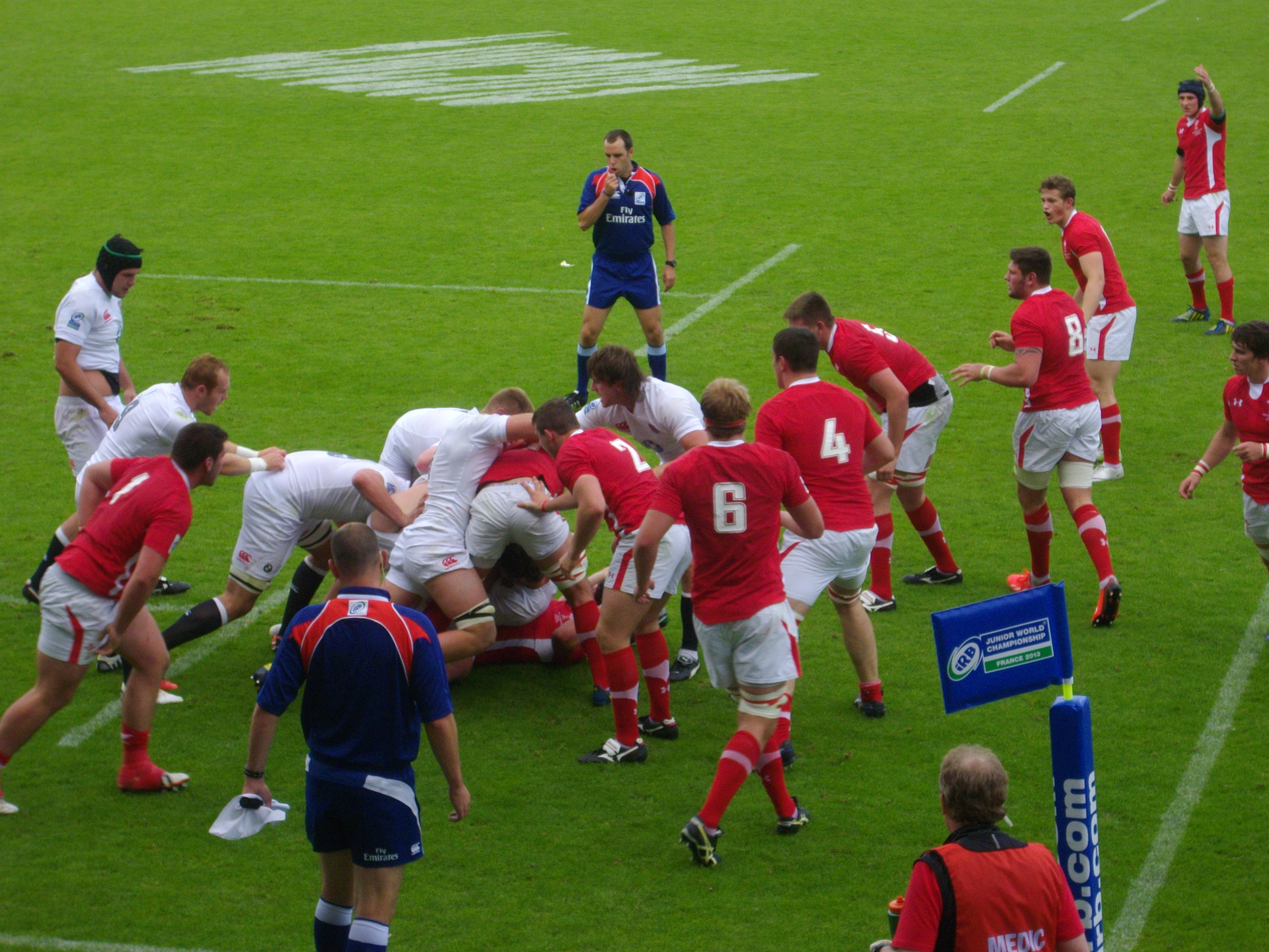File coupe du monde junior de rugby xv 2013 finale 13 jpg wikimedia commons - Finale coupe du monde de rugby ...