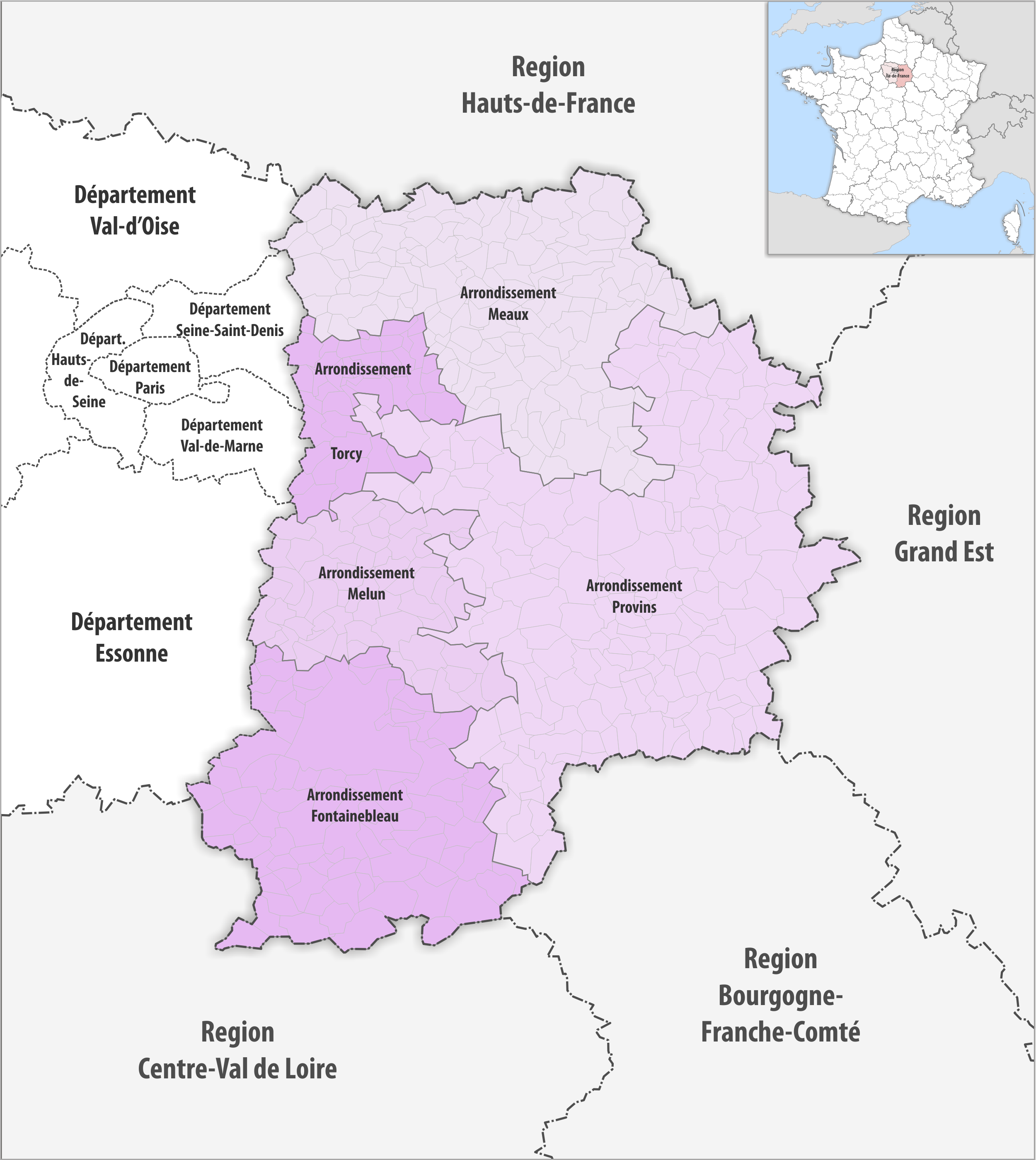 Seine et Marne département