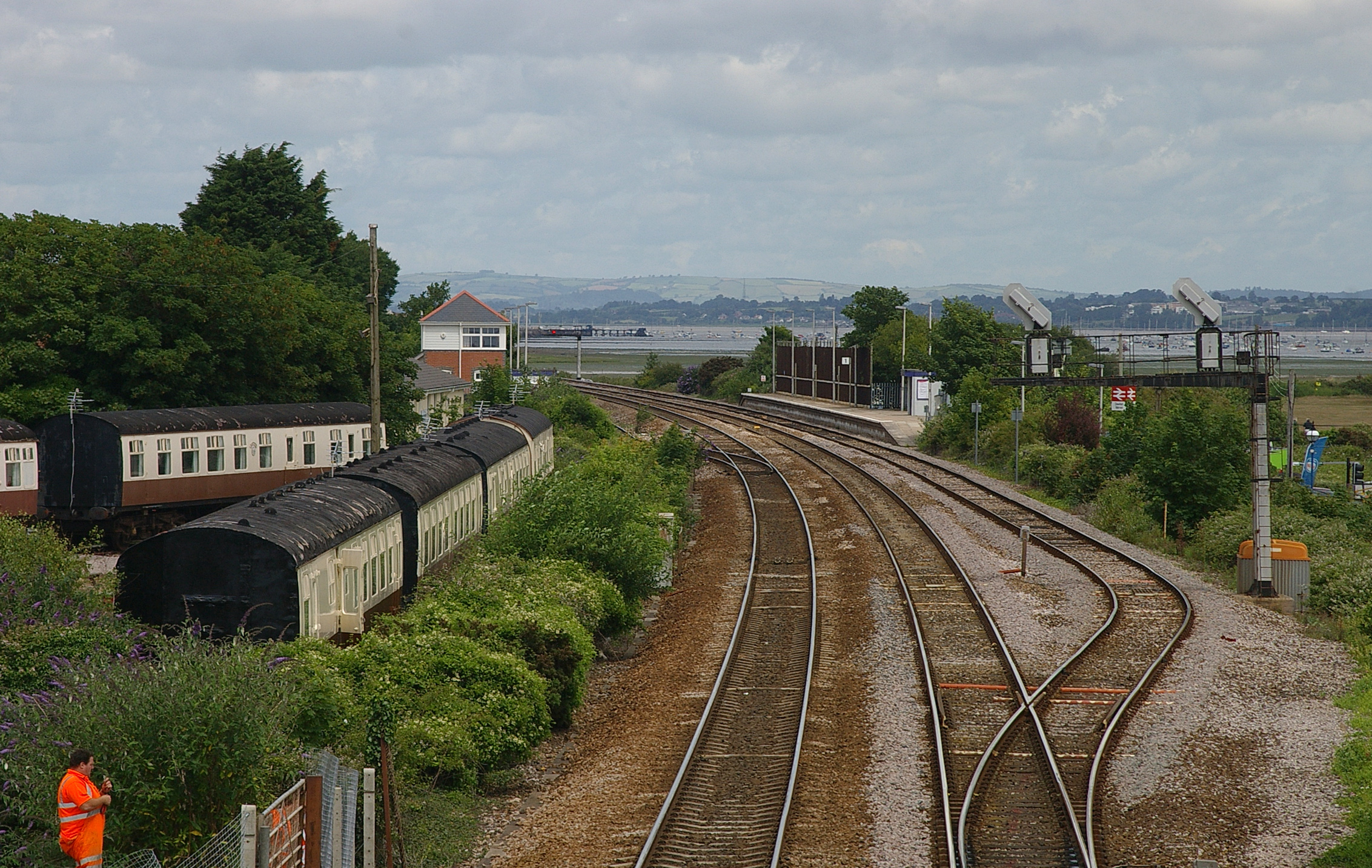 File Dawlish Warren Railway Station Mmb 01 Jpg Wikimedia