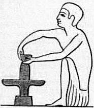 EB1911 Ceramics Fig. 1.—Potter moulding a vessel on the wheel.jpg