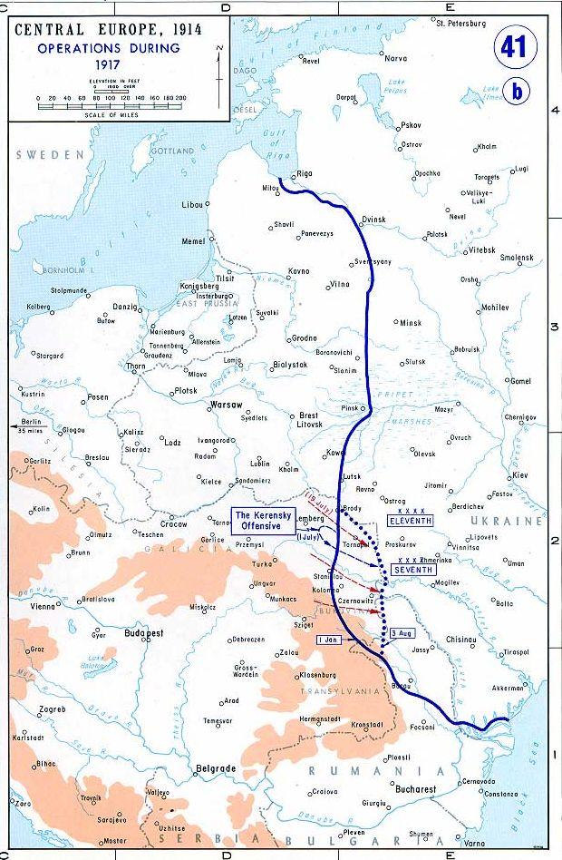 Ofensiva de Kérenski EasternFront1917
