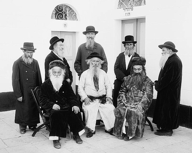 FileElderly Jews Jerusalem C 1920