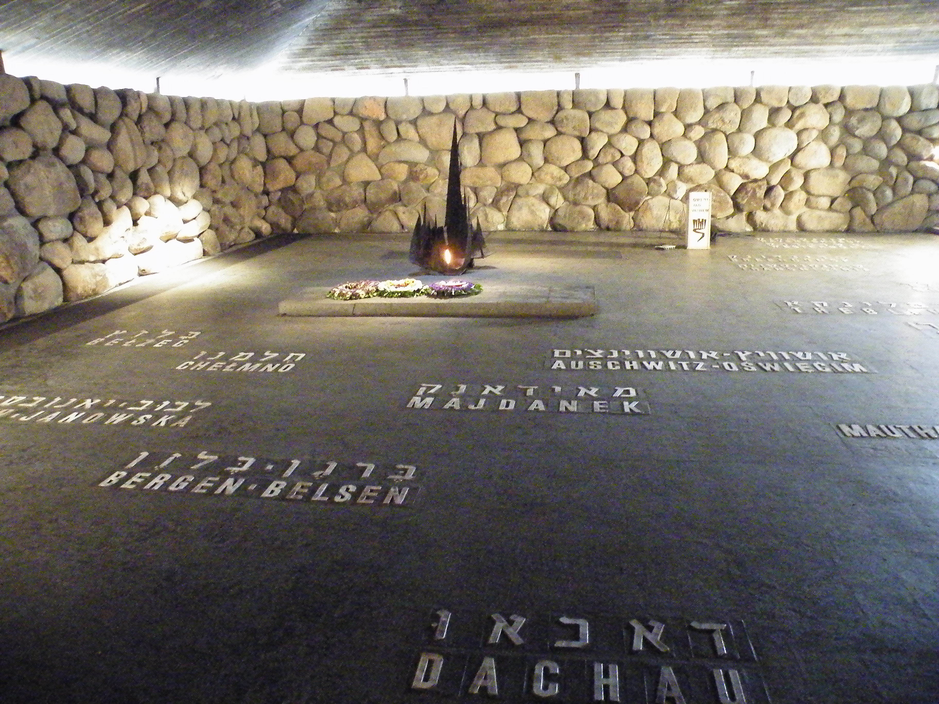 Eternal Flame and Concentration Camp Victims Memorial
