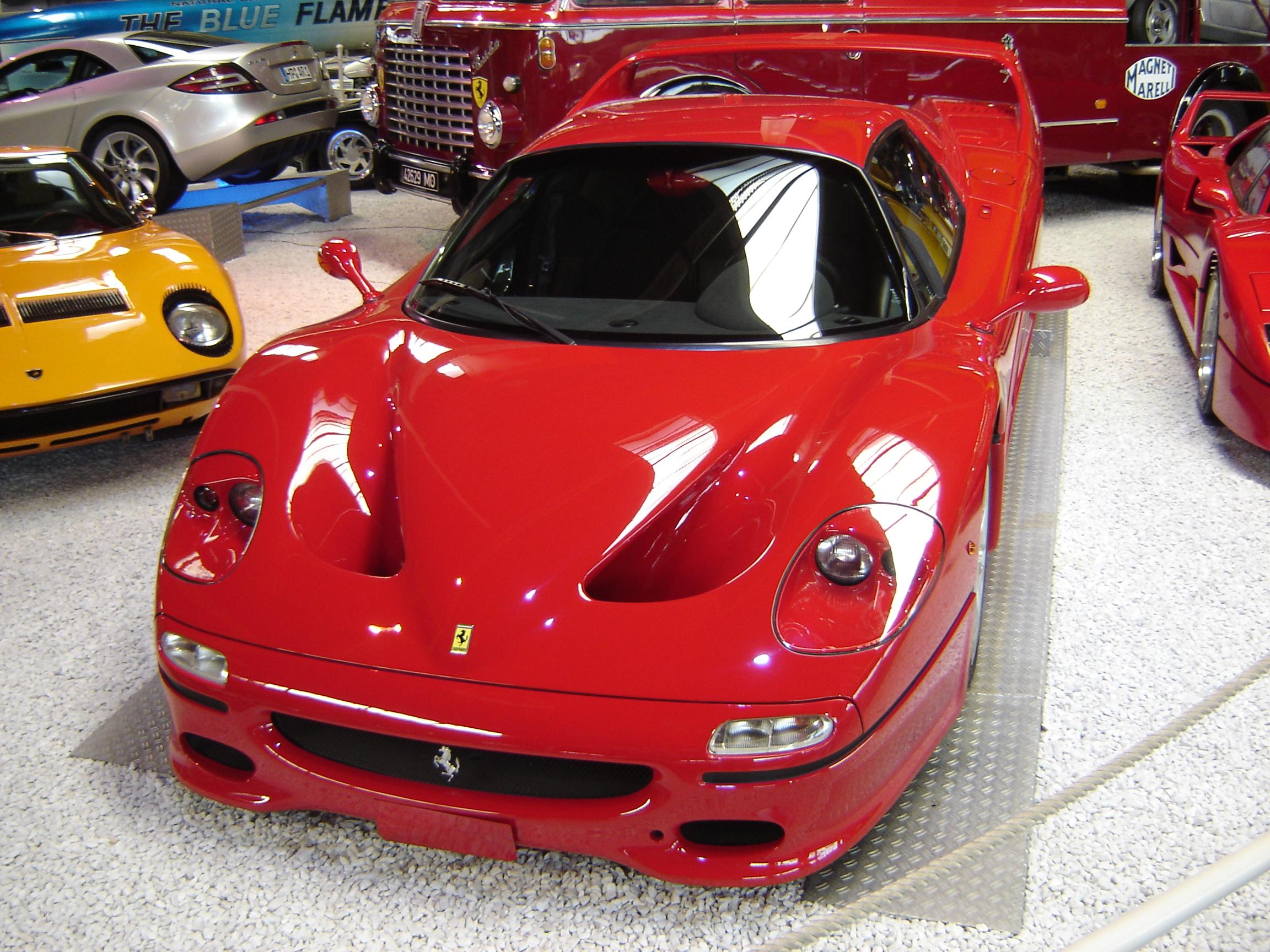 Car Crash Ferrari