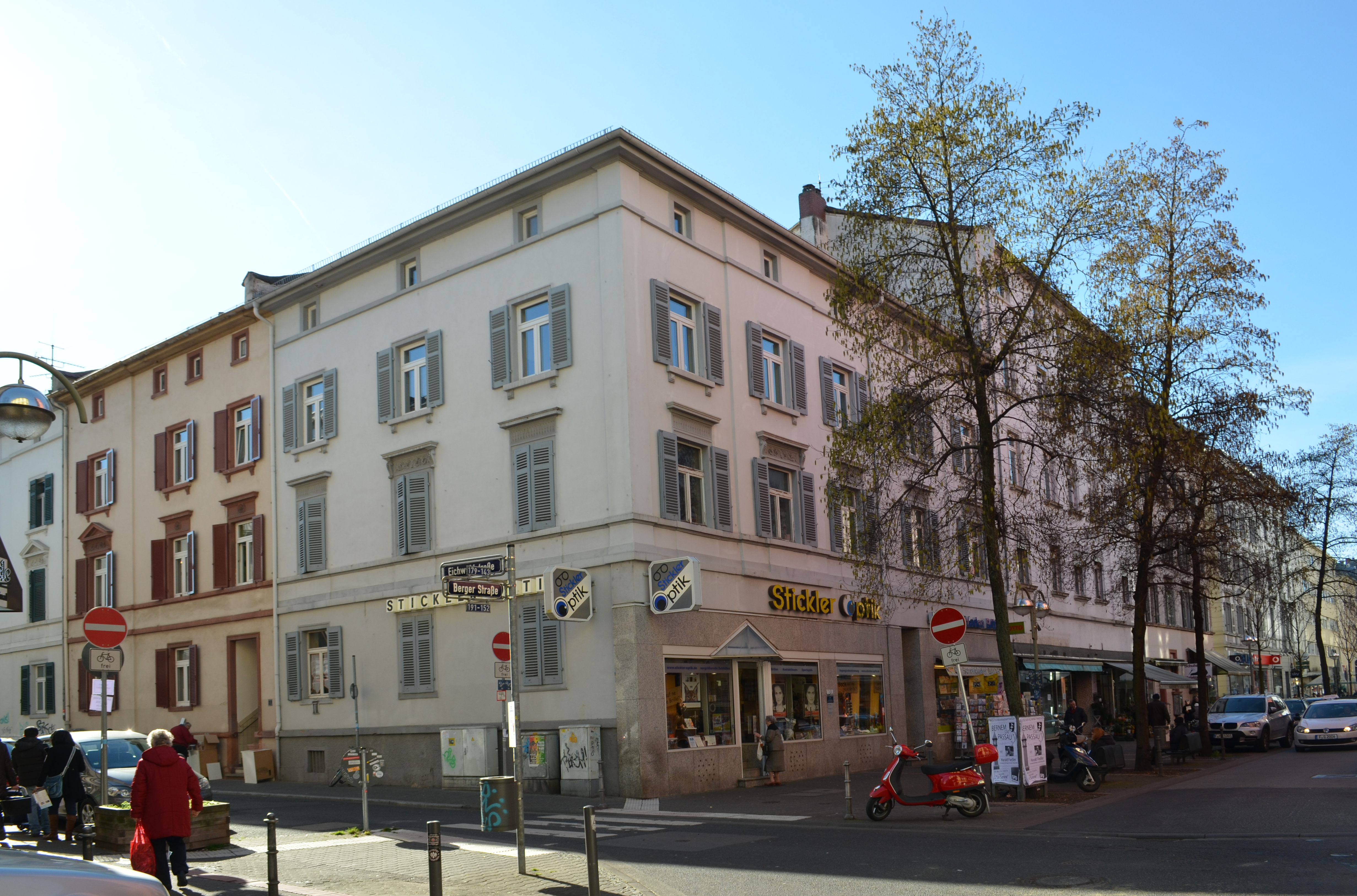 nopeus dating Frankfurt Berger Straße