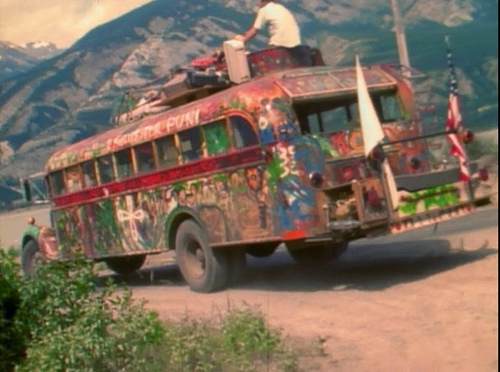 Ken Kesey's original Furthur in 1964