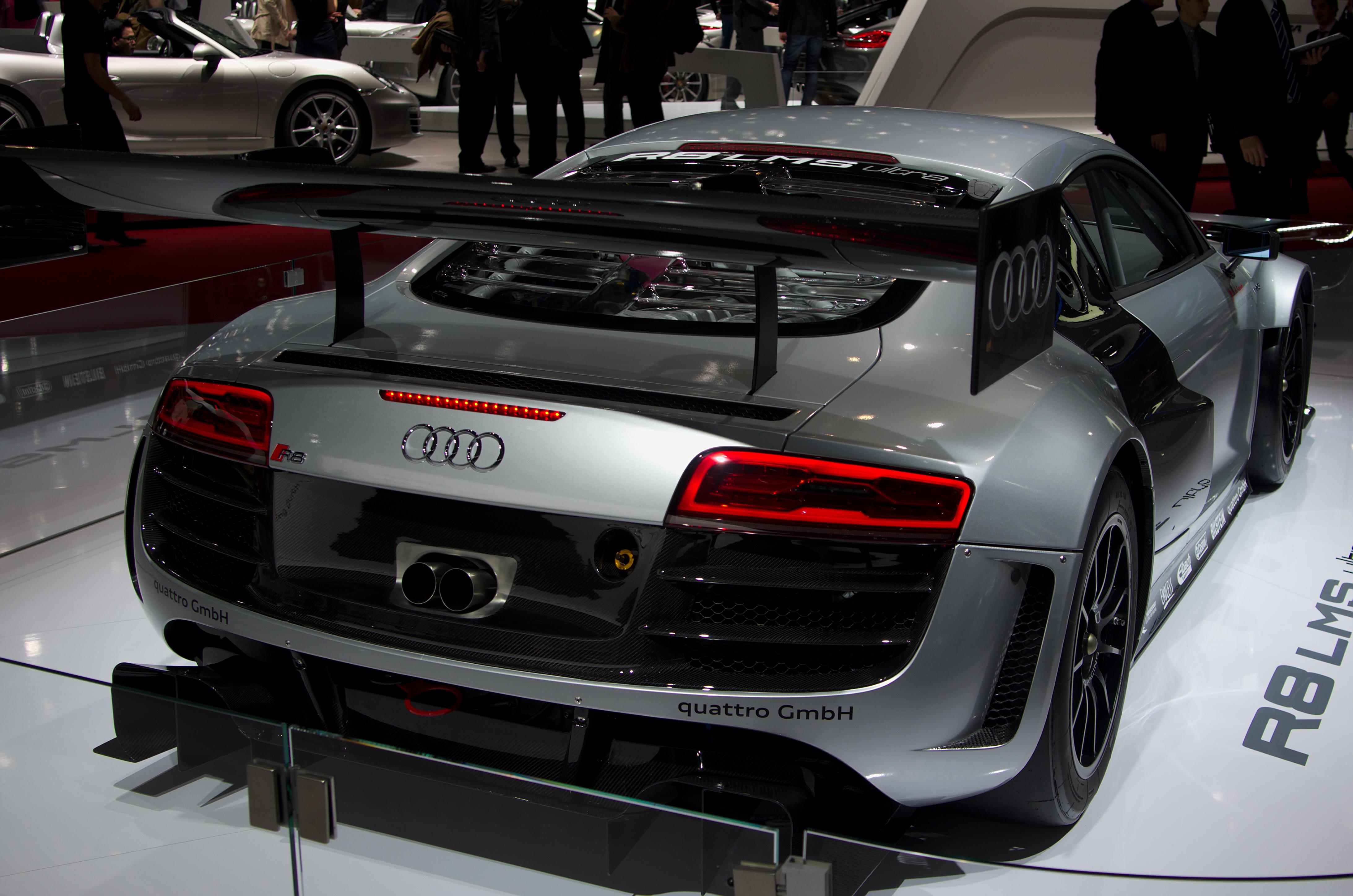Description Geneva MotorShow 2013 - Audi R8 LMS ultra rear view.jpg