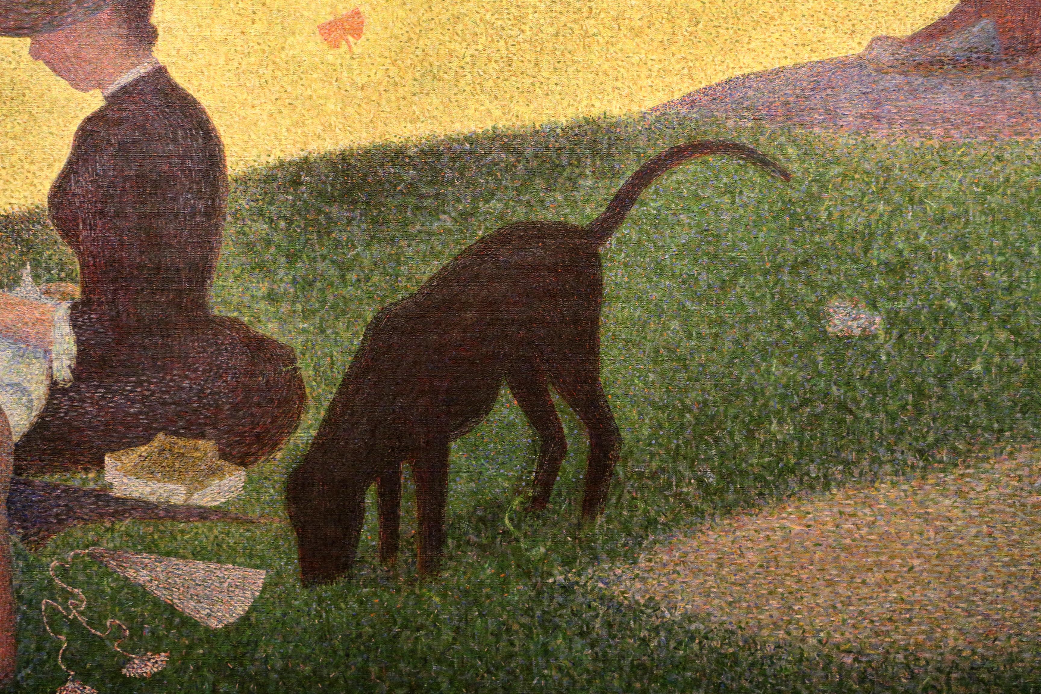 File:Georges seurat, domenica alla grande jatte - 1884, 1884