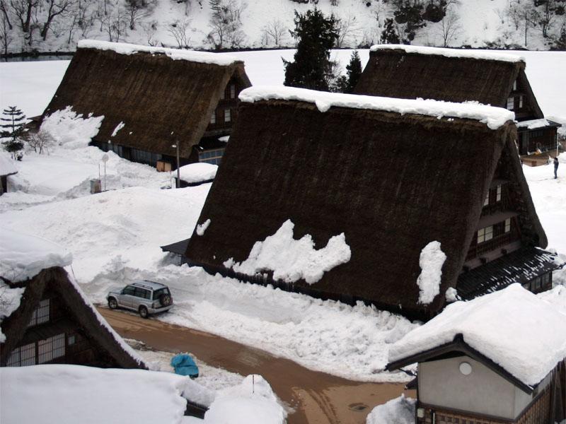 Tradicionalne kuće , jedinstvena gradnja  Gokayama_Japanese_Old_Village_002