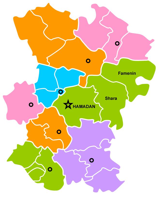 شهرستان همدان