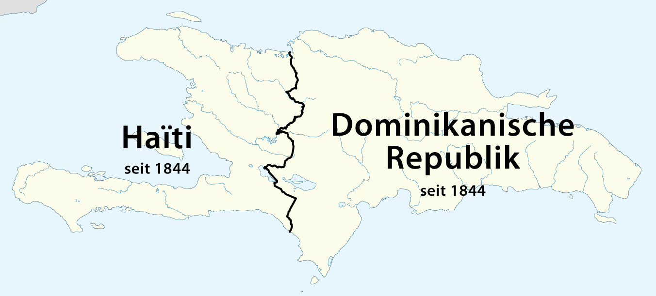 Map Of Hispaniola And Surrounding Islands