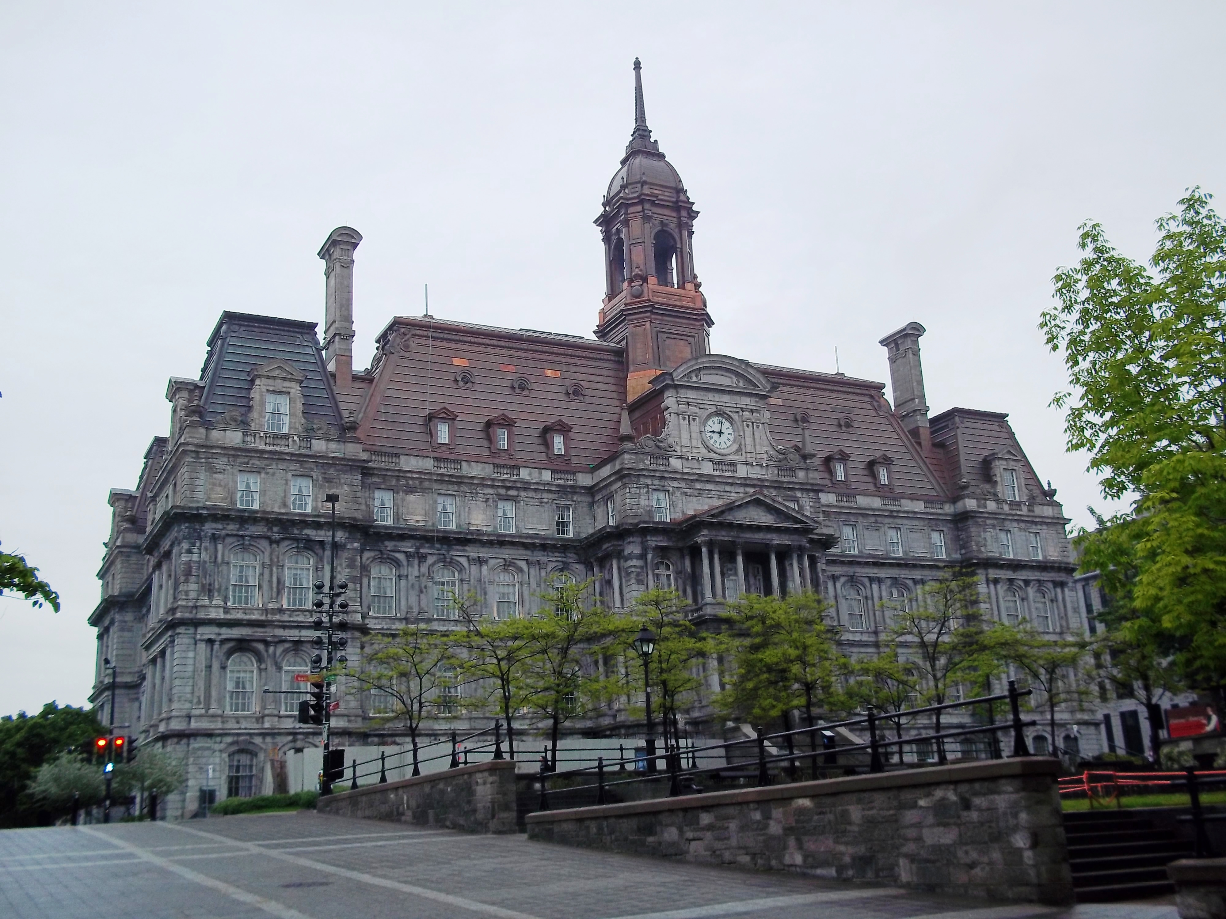 File hotel de ville de montreal wikimedia commons for Hotel de ville