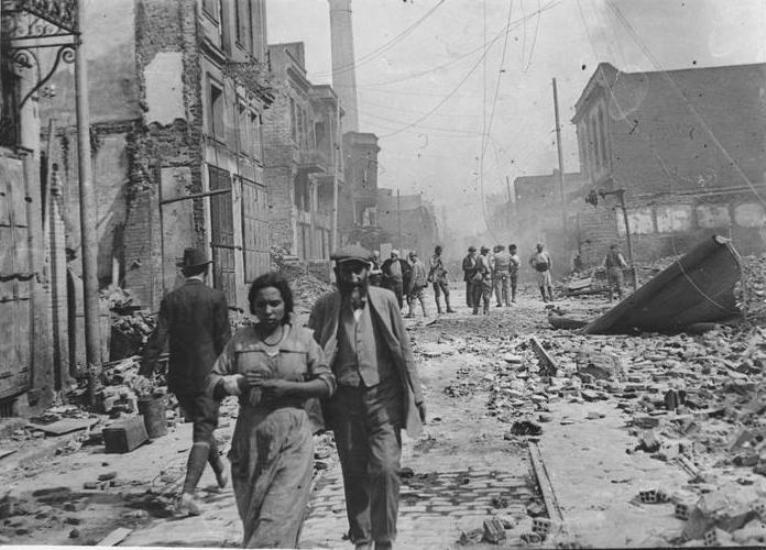 file incendie de salonique en 1917 rue
