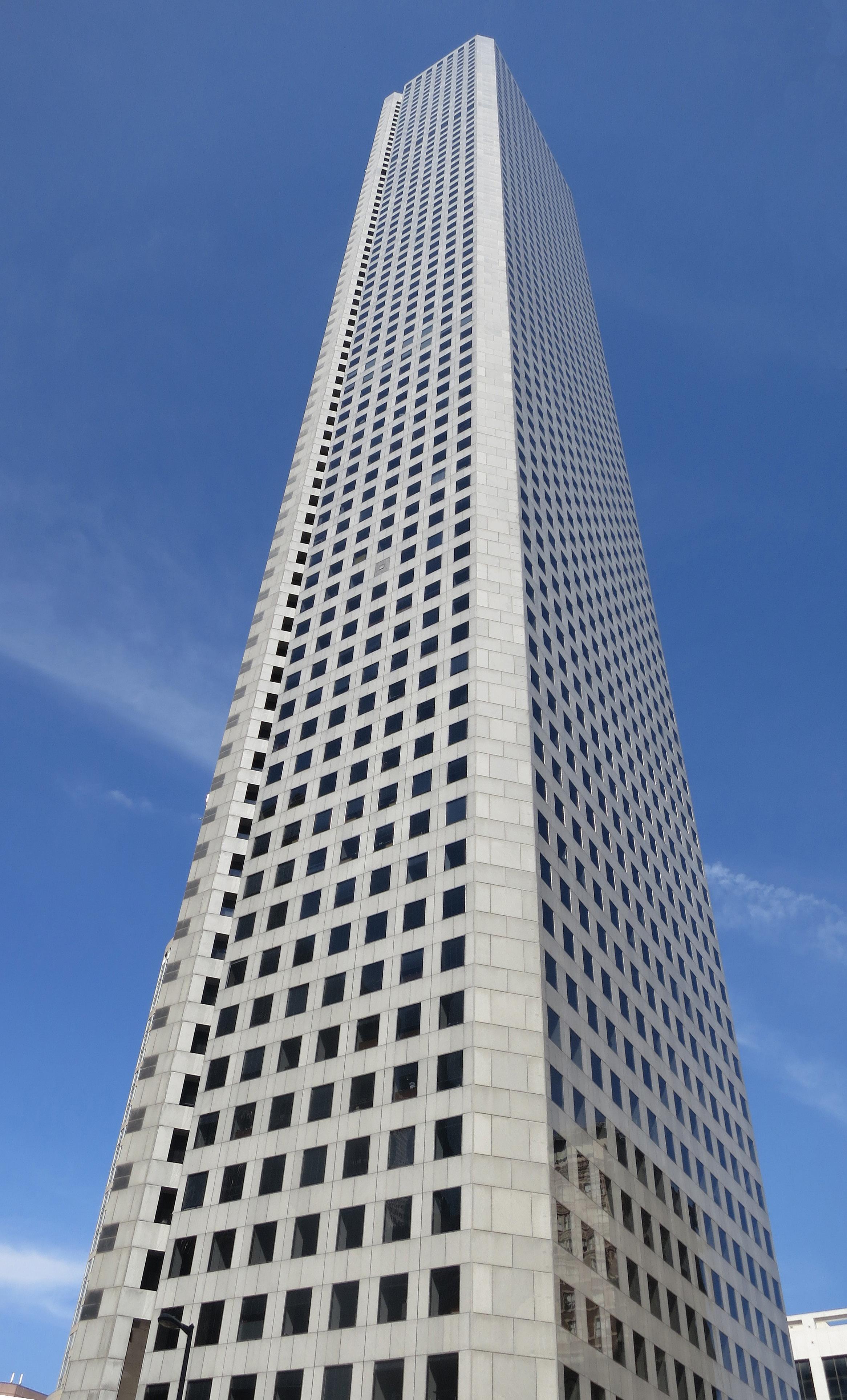 File Jpmorgan Chase Tower Houston Texas Jpg Wikimedia