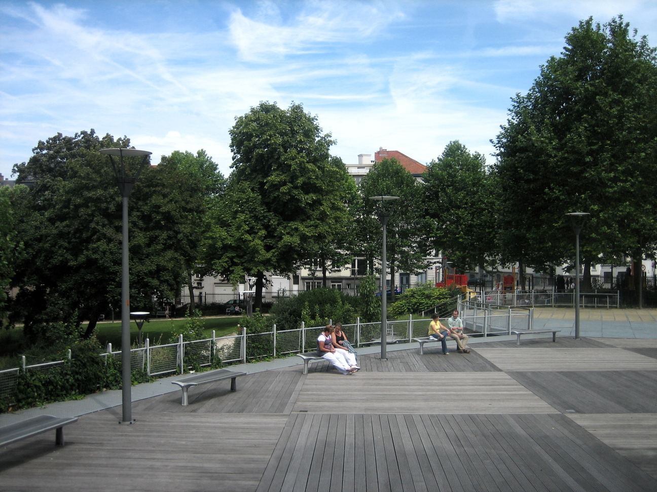 Jardin du maelbeek for Atelier du jardin d acclimatation